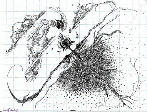 Amykamala-myrose
